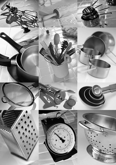 Kitchen Equipment Food At Home
